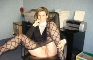 dauergeile Sekretärin privat ficken